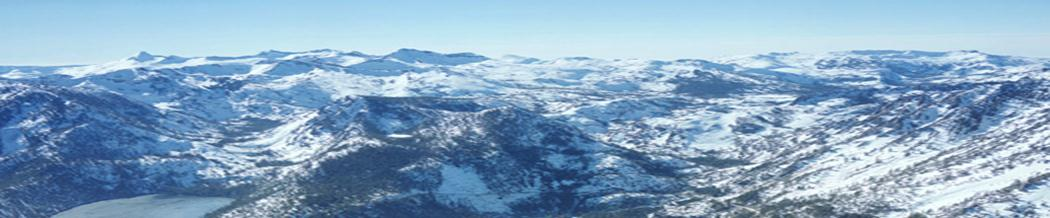Photo of mountains at Lake Tahoe for Living Your Mountain Dream newsletter.